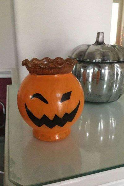 Bud Vase Pumpkins