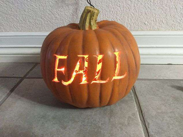 Carve Fake Pumpkins   Chas' Crazy Creations