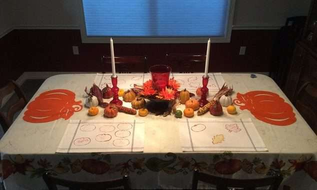 Easy Placemats & Table Markers