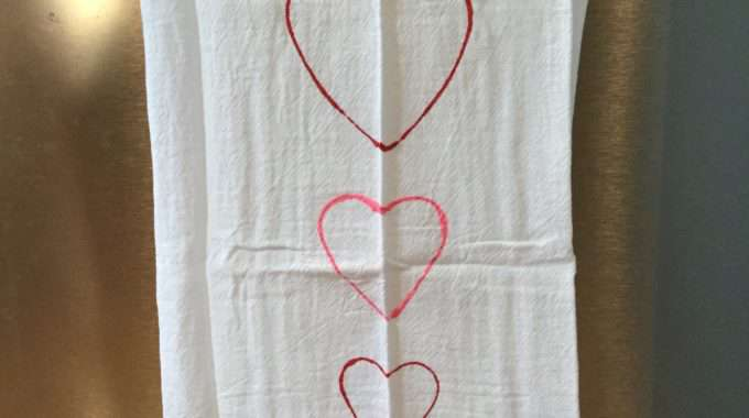 Dish Towel Gift – 4 ways