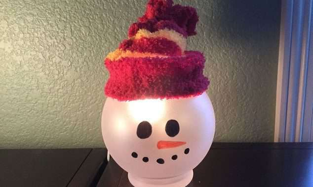 Easy Snowman – Great Kids Craft Too!
