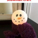 Need an easy snowman craft? I'd like to introduce you to my super easy light up snowman craft for winter. Its easy and inexpensive! Great for kids and adults, parties, party favors, etc.