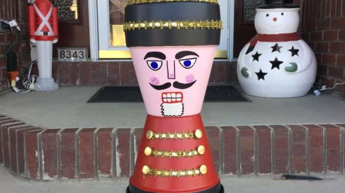 Terra Cotta Nutcracker Soldier