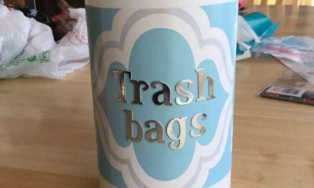 Trash Bag Storage Dispenser/Container