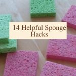 Everyone has sponges at home, but did you know there are so many uses? Do you struggle to keep them clean? I'm going to show you 14 helpful sponge hacks, and how to clean it.