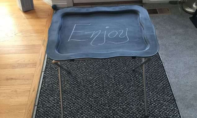 Upcycled TV Trays – I Had No Idea on the Family Fun They'd Become!