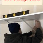 How to make a simple garage self? In this post you'll learn how to make an easy heavy duty DIY garage shelf for your home.