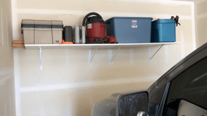 Building A Large Heavy Duty Garage Shelf