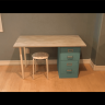 Here is the completed desk! You can make it right or left handed.