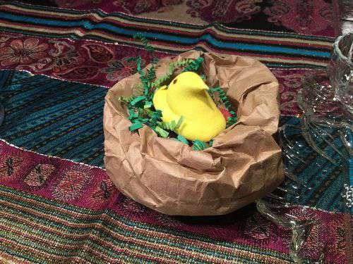Spring & Easter Goody Nest