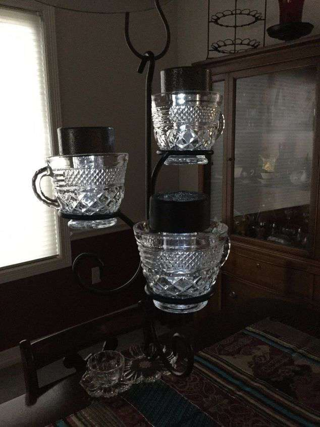 Candle Holder To Tea Cup Holder 3 Options Chas Crazy