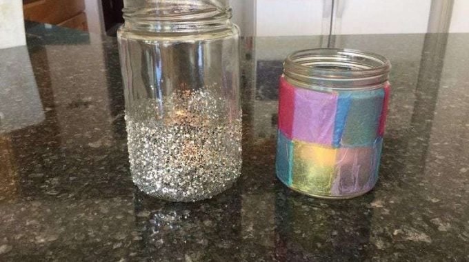 Upcycle Jars to Candle Holders (2 Options)