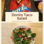Do you want to know how to make Dorito taco salad? This recipe is easy, adjustable, and can be set up like a salad bar where everyone gets exactly what they want!