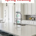 What does spring clean up include? It's a little elbow grease, and I love the way your kitchen looks when it's done. I like to keep it as simple as possible and thought I'd share how I spring clean up my kitchen with you.