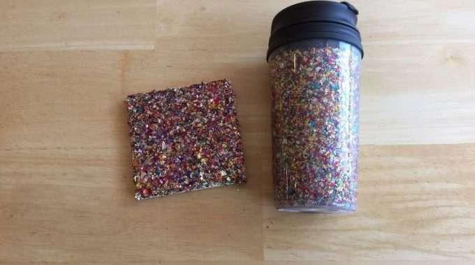 Confetti Travel Mug & Coaster