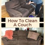 I'm at it again, a new challenge of how to clean a couch naturally. Well, to put this to the test, I cleaned my friend's couch. Why is this a key piece - who would risk ruining their friend's couch?!!! So I found a way to safely clean her couch with items I already had at home, and I wanted to share the results with you.