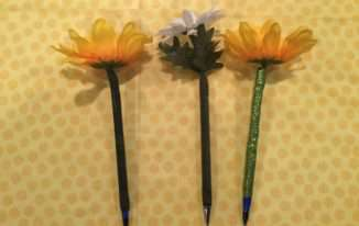 Easy Floral Pens