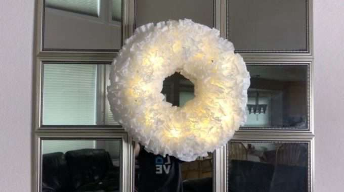 Coffee Filters Holiday Decor
