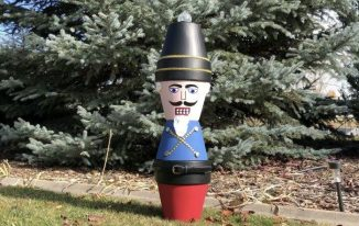Nutcracker Flower Pot Solider