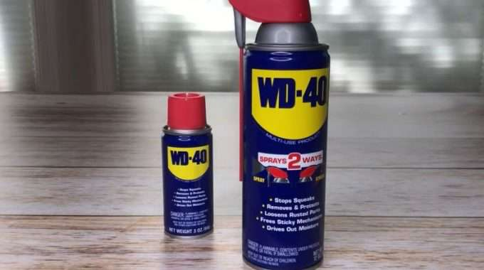 WD-40 removes, protects, & loosens so many things. It contains silicone which is one of the things that makes this so special. The one thing to note is that it is flammable.