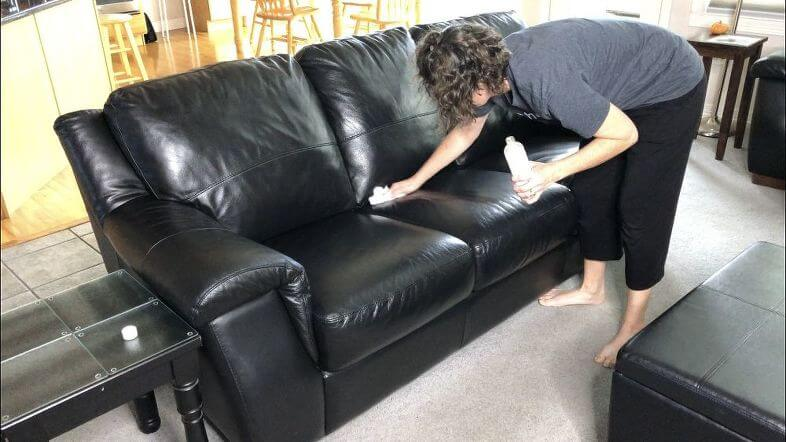 How To Deep Clean Your Leather Couch Chas Crazy Creations