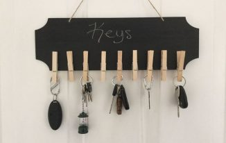 Easy Clothespin Sign with Endless Uses