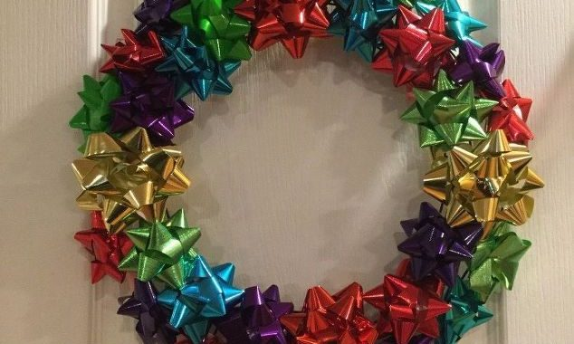 Holiday and Birthday Bow Wreath