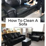 Do you want to know how to clean a sofa? With some simple steps you can keep your couches looking brand new.