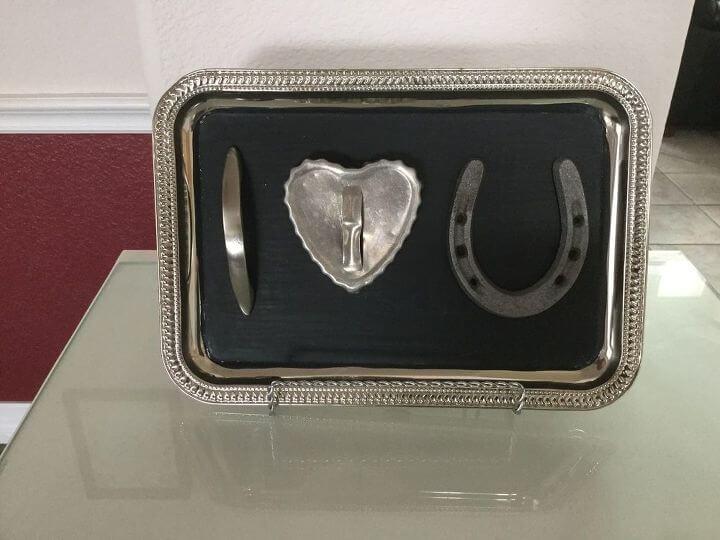 Junk Art Valentine's Day Sign
