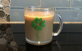 Fingerprint St. Patrick's Day Mug