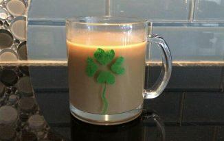 Fingerprint St. Patrick's Day Mug