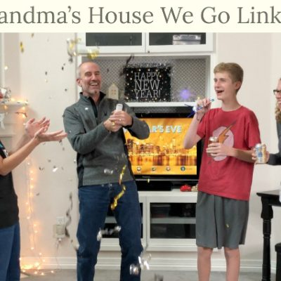 To Grandma's House We Go DIY Link Party Logo