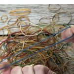Rubber bands are great for closing things and keeping things together. I have a few other useful ideas on how to use rubber bands in your home.