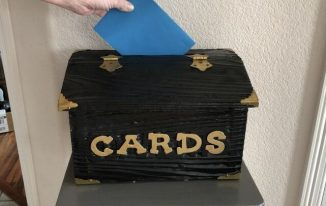 All Occasion Card Box Upcycle