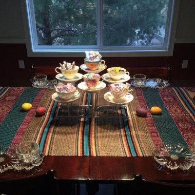 Serving Centerpiece with Teacups featured image