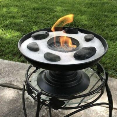 DIY's For the Best Summer Ever! (6) table top fire
