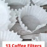 Paper Coffee filters are for more than just making wonderful coffee. Here are a few other ways to use them in your home.