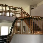 It makes hanging your garland and lights fast and easy.