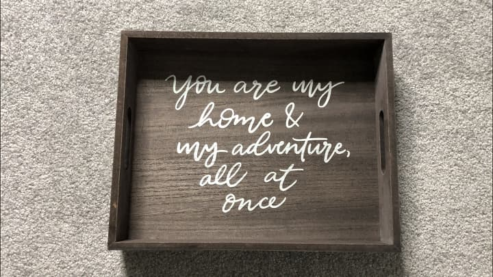 I bought 2 of these trays from the Target Dollar Spot.