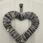 Beautiful 3 Dollar Yarn or Ribbon Wreath
