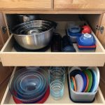 I love an organized space, and kitchen storage can be a challenge. I wanted to share how I organize some of my cookware and storage containers in my kitchen, and my journey along the way
