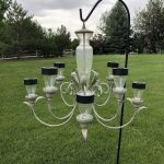 Next, decide where you want to place it - porch, gazebo, hanging from a tree, etc. With indirect sunlight solar lights will run a couple hours, and with direct sunlight they'll run several.