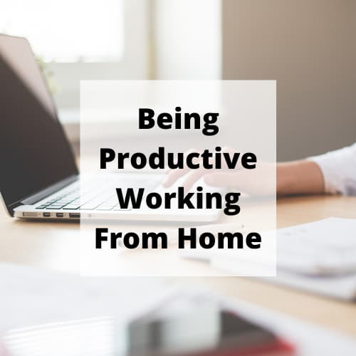 Being productive working from home has been a challenge, while My whole family is working and schooling together.