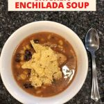 Do you want to know how to make chicken enchilada soup in a slow cooker? I love my slow cooker as a busy working mom, fix it and forget it. Today I'm sharing delicious cheesy chicken enchilada soup.