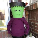 Do you want to know how to make Halloween Decorations? Many of you have seen my flower pot creations, my scarecrow, snowman, Santa, & Uncle Sam. I'm at it again creating a flower pot Frankenstein (or Frankenstein planter). Today I'm sharing how I made my Halloween Frankenstein Candy Holder.