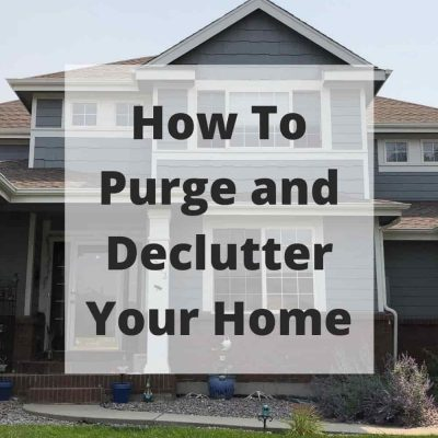Have you wondered how to purge and declutter your home? Decluttering your home can be surprisingly challenging if you try to tackle it all in a single day. One of the golden rules of cleaning up your home is to take it slow and steady.
