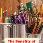 What are the benefits of crafting? How does arts and crafts help a child's development? I'm sharing some of the benefits of crafts for kids.