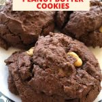 How do you make chocolate peanut butter cookies? I have a super easy recipe my aunt shared that is only 4 ingredients! A special thanks to my Aunt Sheree for sharing this recipe with me!