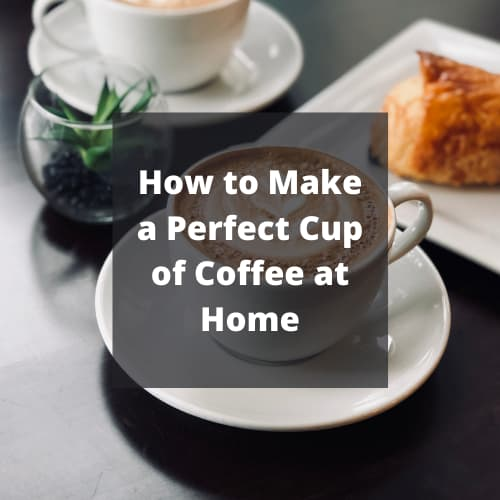 How to Make a Perfect Cup of Coffee at Home? A cup of coffee can be the perfect way to start your day. It will give you the energy you need to get through the day ahead. You don't need to go to a café to get excellent coffee. You'll be able to make it at home. Let's look at some of the best tips to produce a delicious cup of coffee.