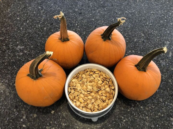Pumpkin Seeds (rinsing optional) Oil of your choice (we use Avocado Oil) Salt (we use sea salt)
